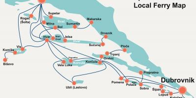 מאוד קרואטיה מפה - מפות קרואטיה (דרום אירופה - אירופה) UV-12