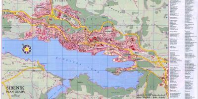 מיוחדים קרואטיה מפה - מפות קרואטיה (דרום אירופה - אירופה) ES-34